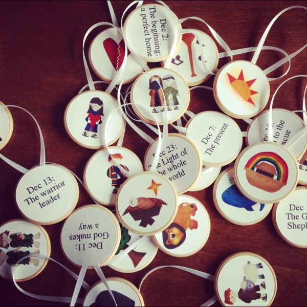 It is a photo of Impertinent Free Printable Jesse Tree Ornaments