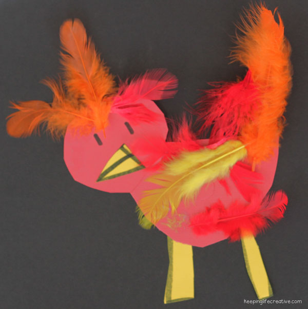 The Little Red Hen Craft Keeping Life Creative
