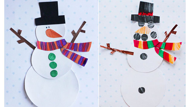 Printable Snowman Craft  Keeping Life Creative