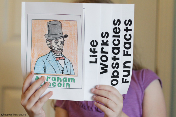 Creating an Interactive Flipbook About Abraham Lincoln