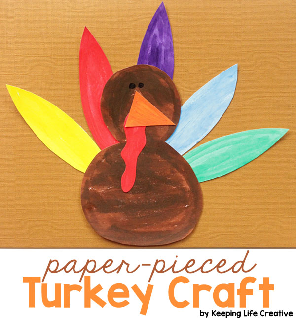Printable Turkey Craft