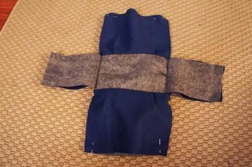 Sew body part 1.