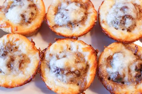 Meatball Sub Cupcakes