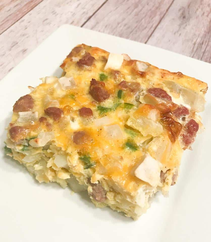 Breakfast Casserole - Weight Watchers Freestyle