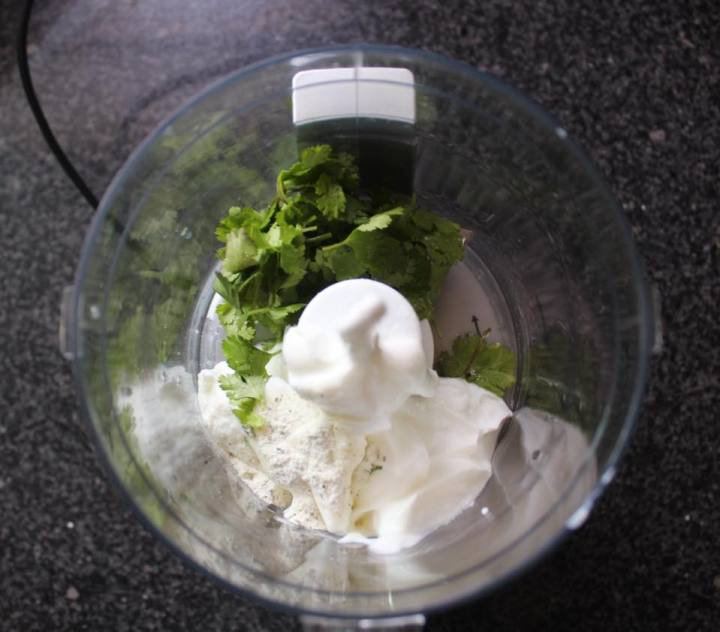Cilantro Lime Dressing 4