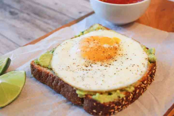 Weight Watchers Avocado Toast 1