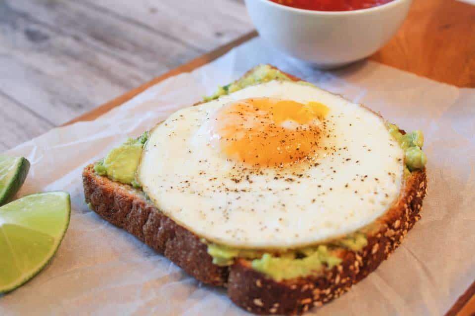 Weight Watchers Avocado Toast 1