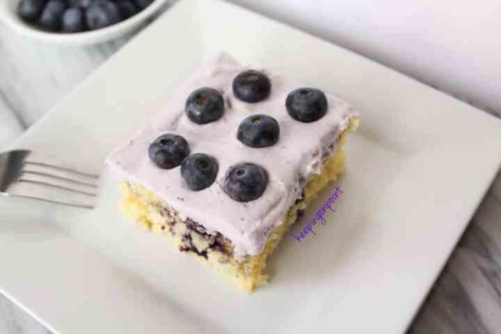 Weight Watchers Blueberry Swirl Cake 15