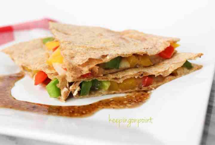 Weight Watchers Veggie Quesadilla 16