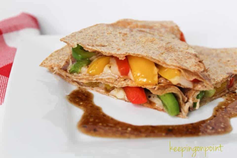 Weight Watchers Veggie Quesadilla 17