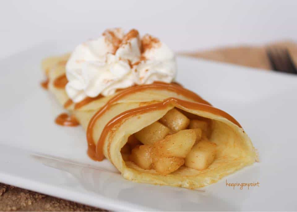 Apple Pie Crapes Weight Watchers Freestyle
