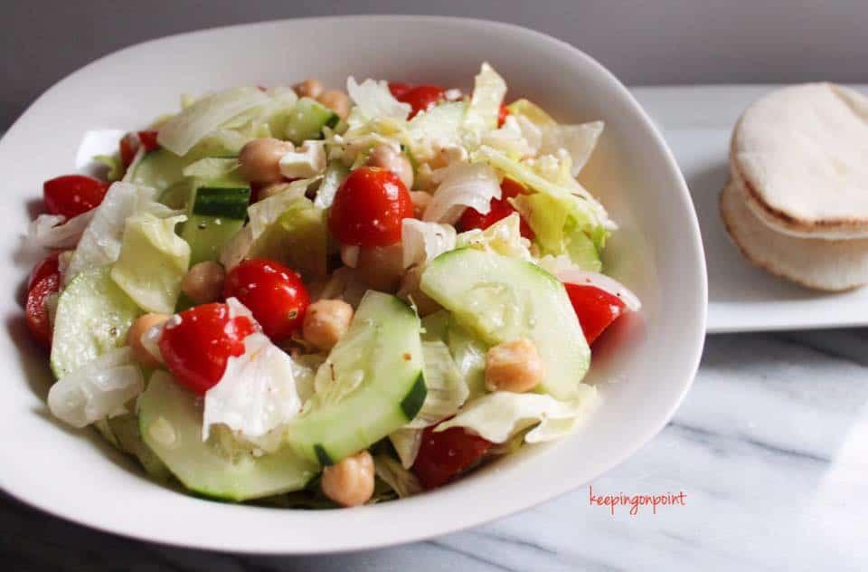 Weight Watchers Freestyle Greek Salad 2