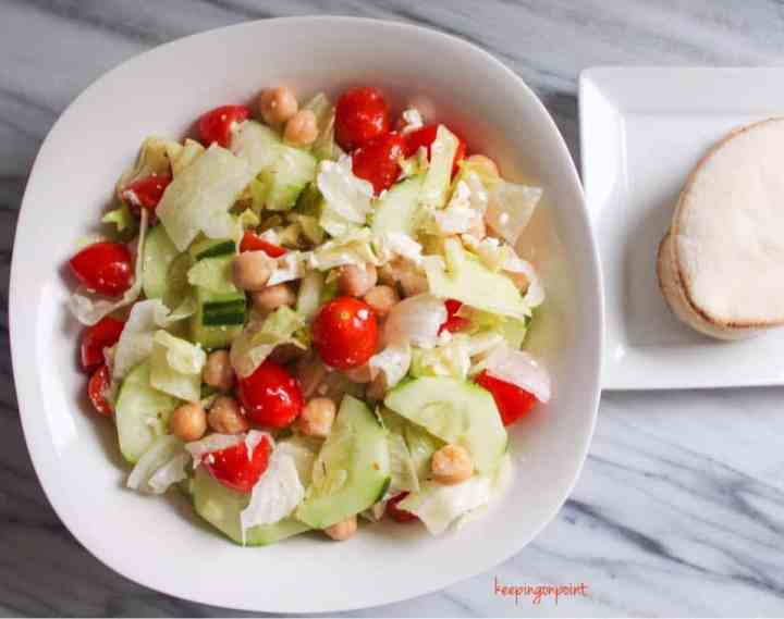 Weight Watchers Freestyle Greek Salad 3