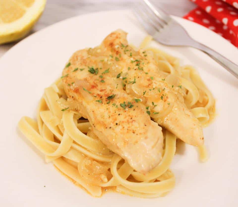 Lemon Butter Chicken - Weight Watchers Freestyle