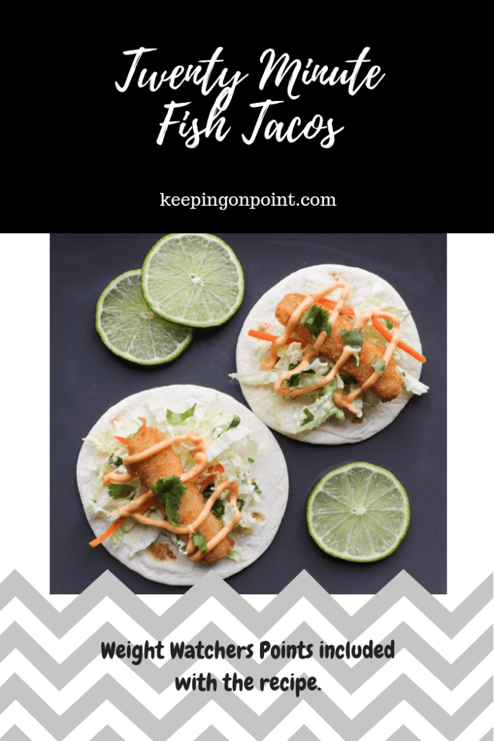Weight Watchers Freestyle Fish Tacos
