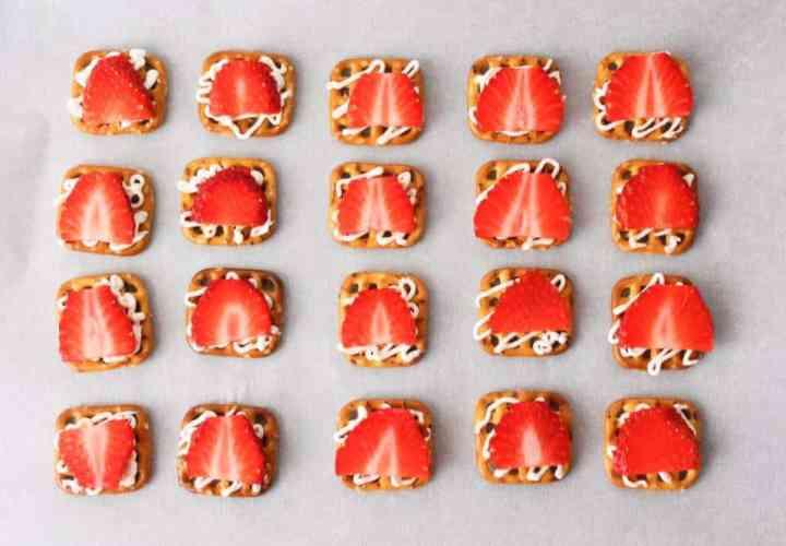 Weight Watchers Freestyle Recipes Strawberry Pretzel Bites 4