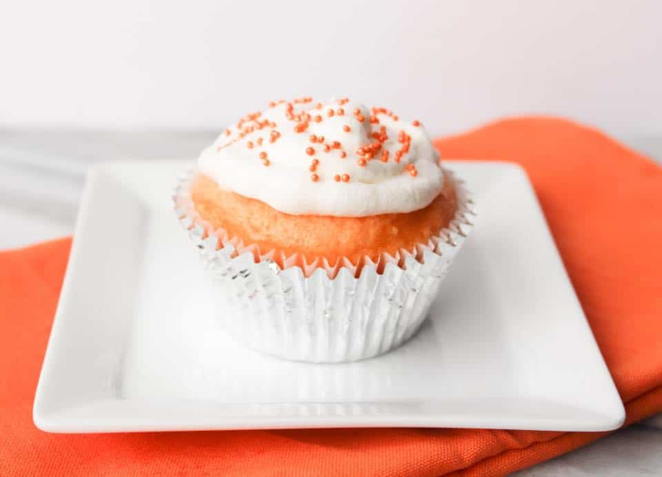 Orange Creamsicle Cupcakes - Weight Watchers