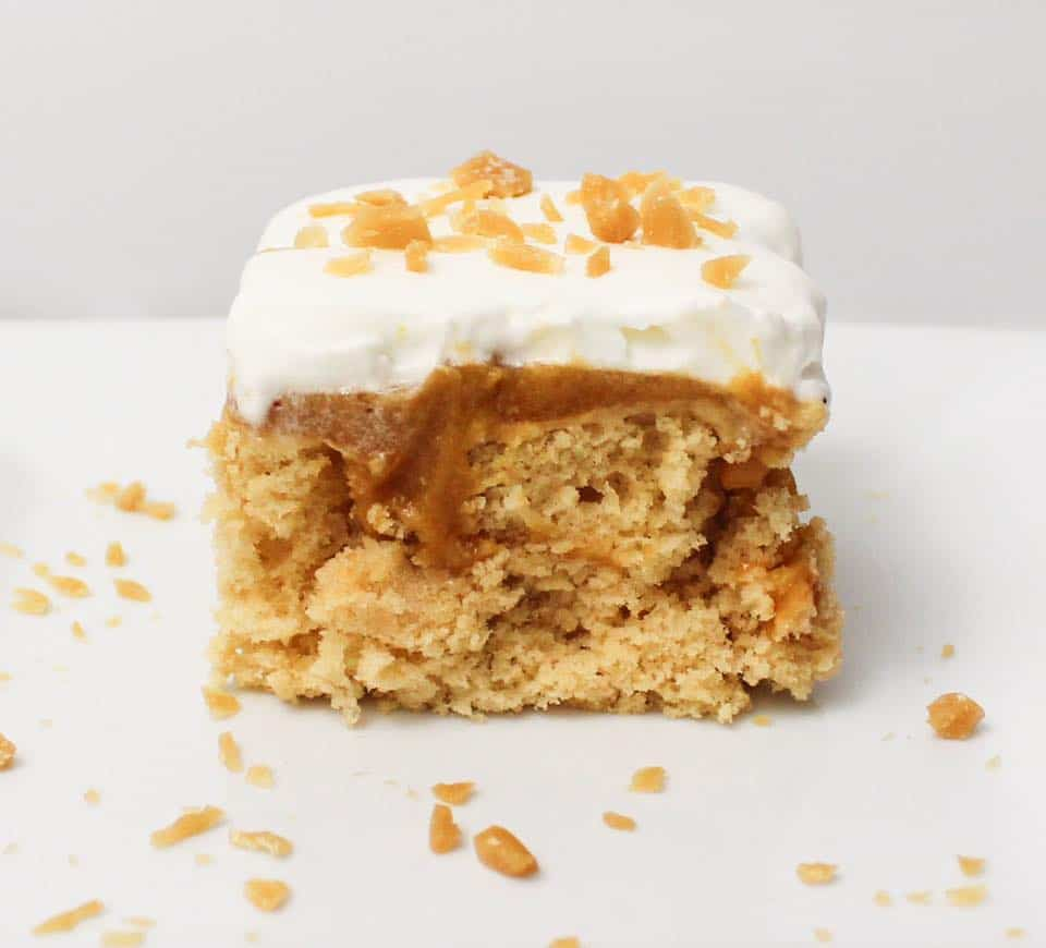 Butterscotch Poke Cake - Weight Watchers