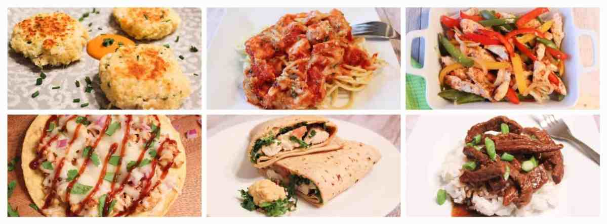 Weight Watchers Weekly Meal Plan #4