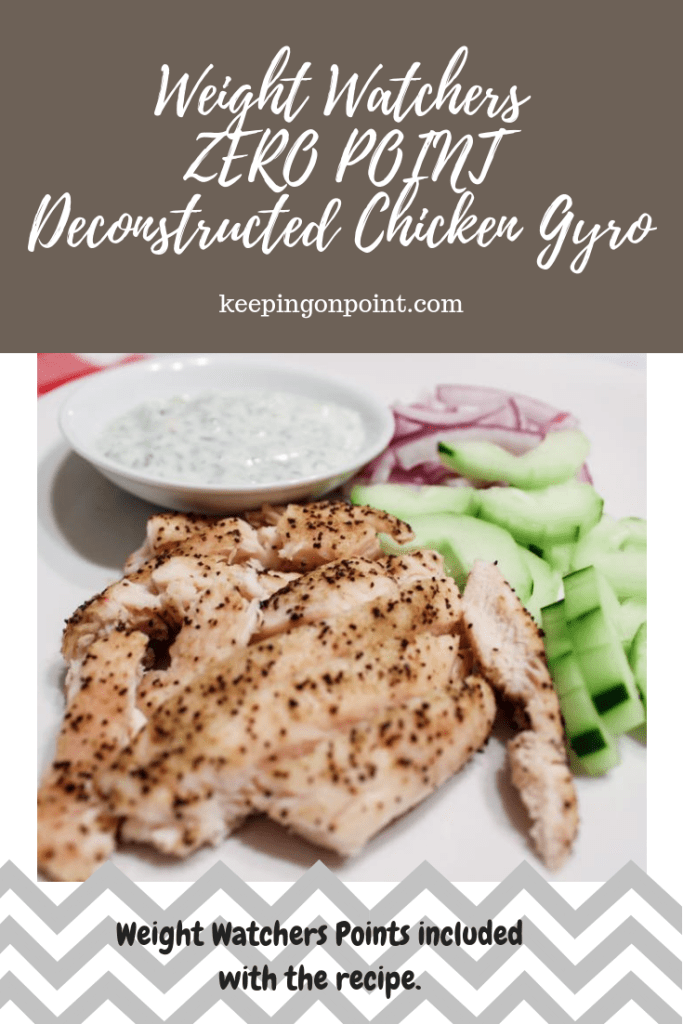Deconstructed Chicken Gyro 0 Freestyle Smartpoints