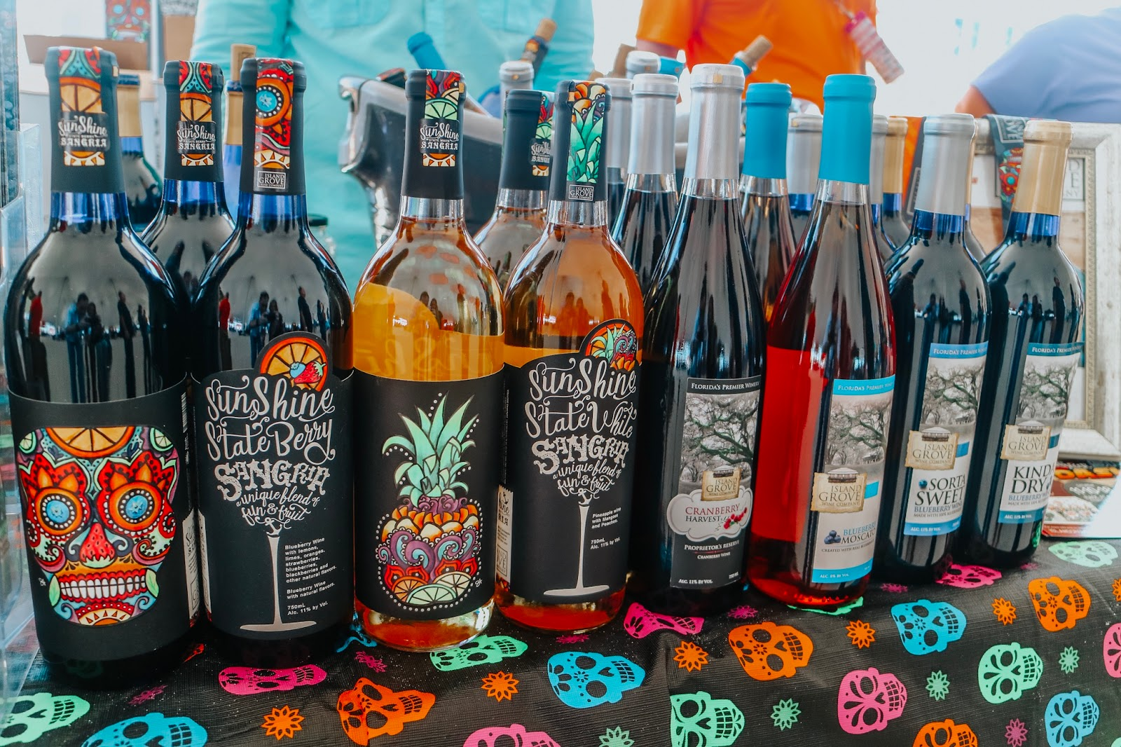 Wine found at Clearwater Beach's Uncorked Food and Wine Festival
