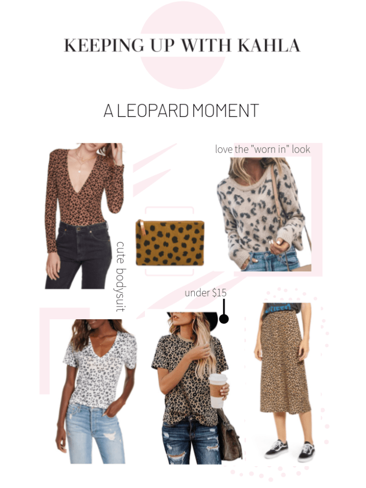 My picks from the latest leopard print trend