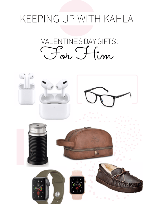 I'm sharing Valentine's Day Gift Ideas for the special guy in your life! Most of these I've bought for my husband and he loves them.