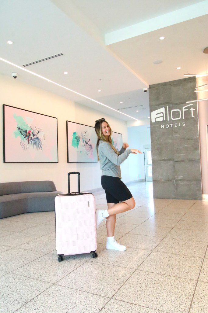 A weekend stay at the Aloft and Element Hotel in Midtown Tampa