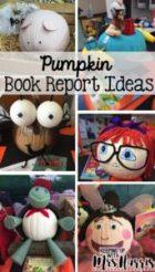 Pumpkin Book Report Ideas - Adorable pumpkin book report ideas for teachers, students, and parents.