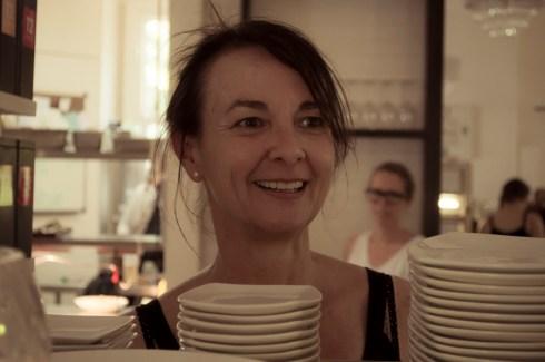 Joanne, proprietor of Lilliana's cafe