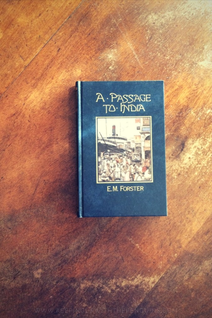 A Passage To India - EM Forster - book laid on wooden table - Keeping Up With The Penguins