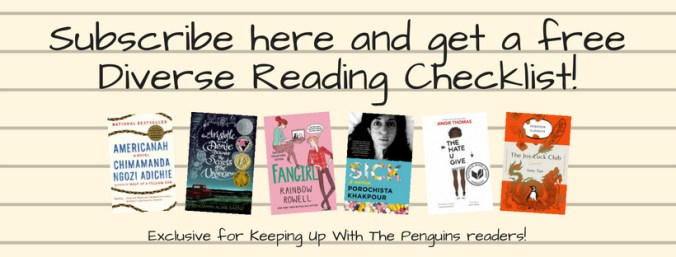 Subscribe here and get a free Diverse Reading Checklist