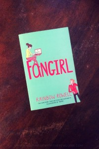Fangirl - Rainbow Rowell - Book laid flat on wooden table - Keeping Up With The Penguins