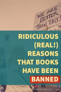 Ridiculous Real Reasons That Books Have Been Banned - Keeping Up With The Penguins