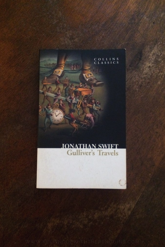 Gulliver's Travels - Jonathan Swift - Book Laid on Wooden Table - Keeping Up With The Penguins