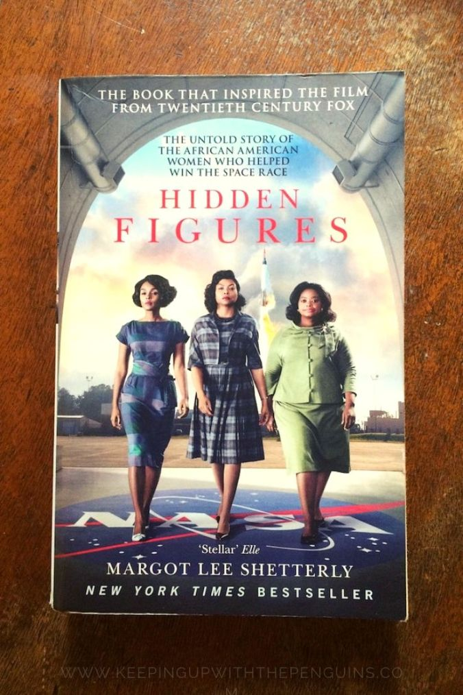 Hidden Figures - Margot Lee Shetterley - Book Laid on Wooden Table - Keeping Up With The Penguins