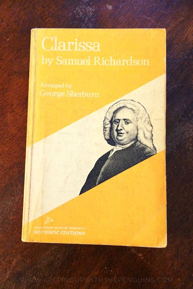 Clarissa - Samuel Richardson - Book Laid on Wooden Table - Keeping Up With The Penguins