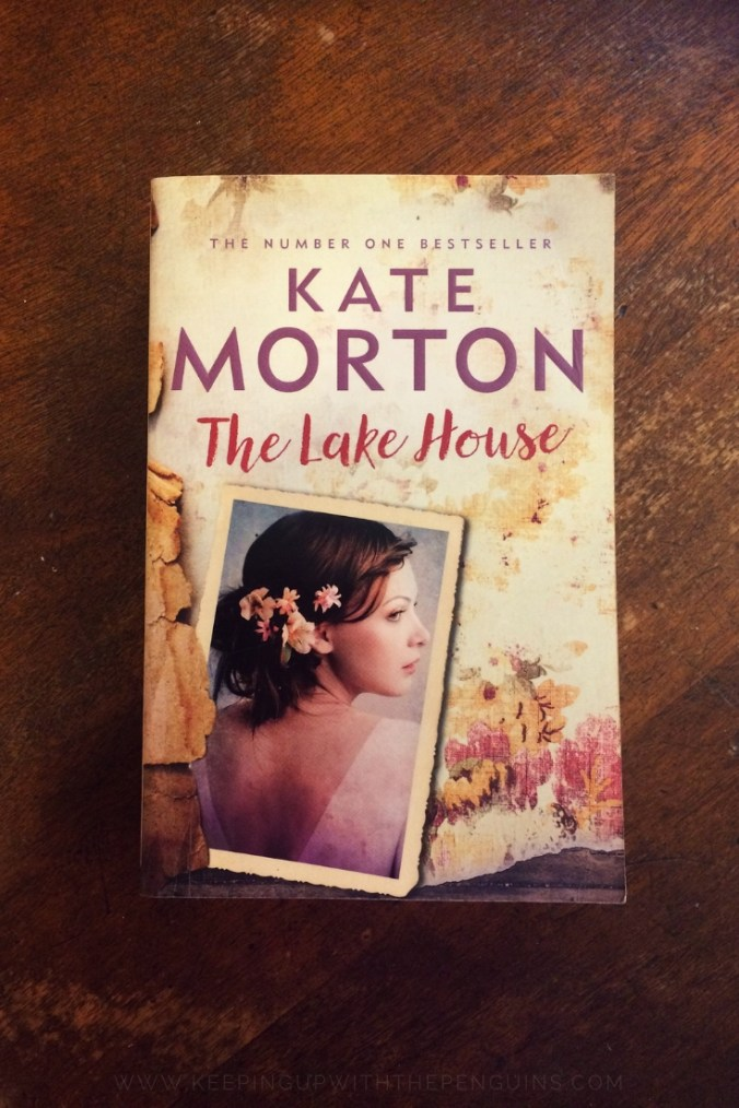 The Lake House - Kate Morton - Book Laid on Wooden Table - Keeping Up With The Penguins