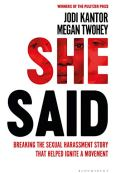 She Said - Jodi Kantor and Megan Twohey - Book Cover - Keeping Up With The Penguins