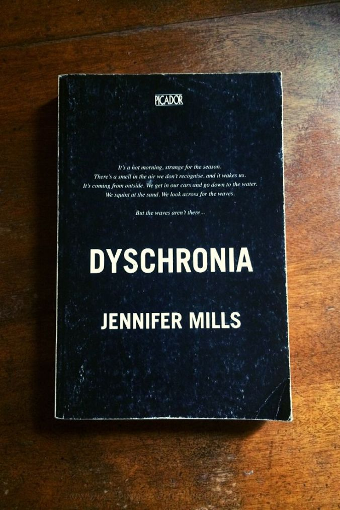 Dyschronia - Jennifer Mills - Book Laid on Wooden Table - Keeping Up With The Penguins