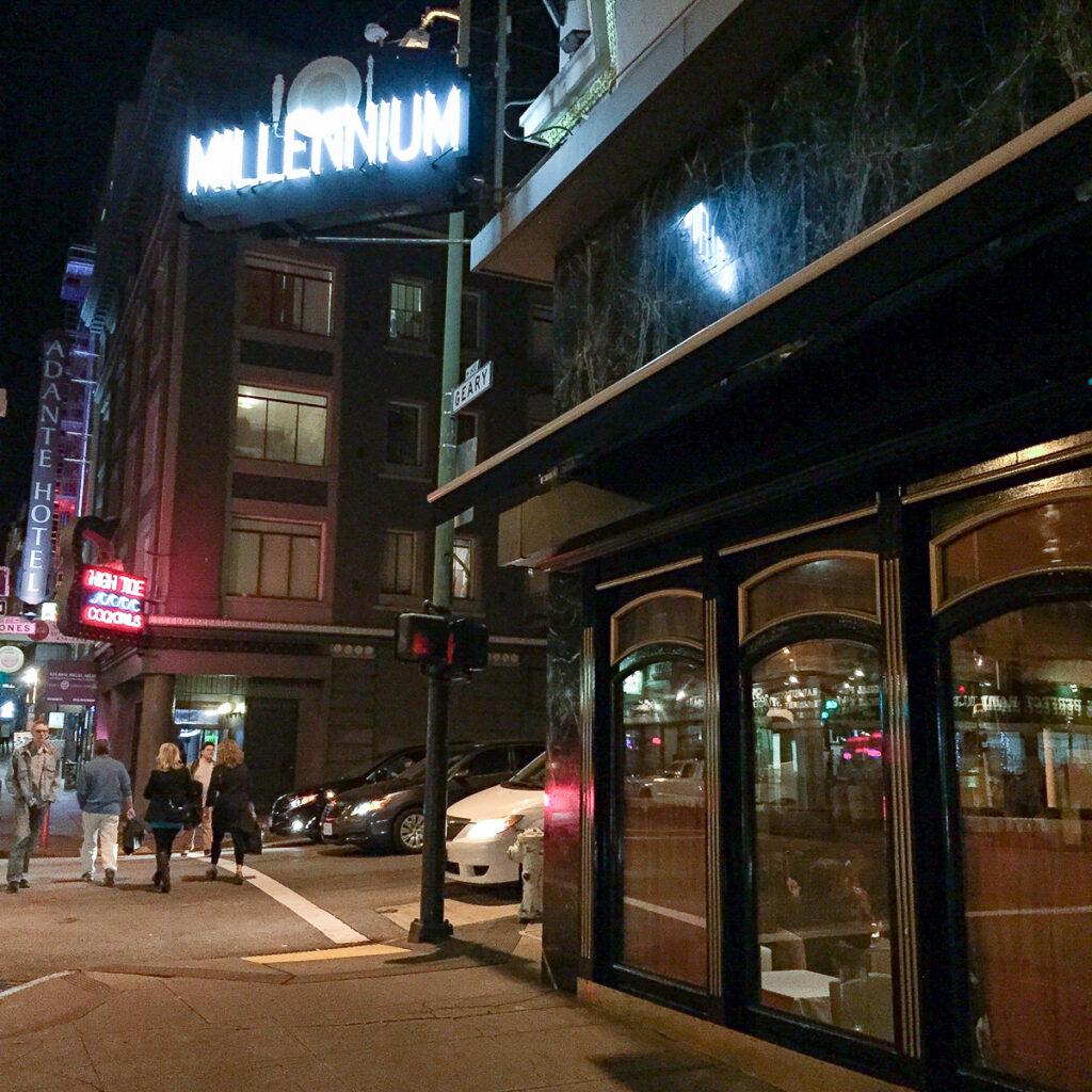 Dinner Restaurants San Francisco
