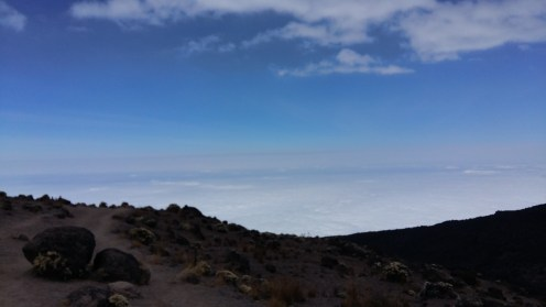 Walking above the clouds
