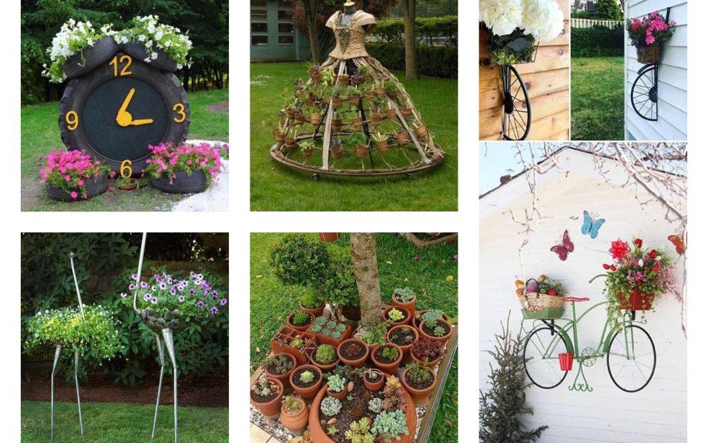 Creative DIY Garden Decor Ideas on Diy Garden Decor  id=88632