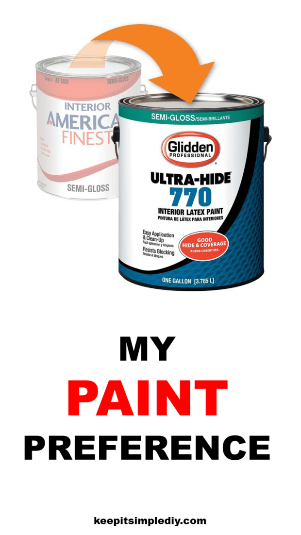 My Paint Preference