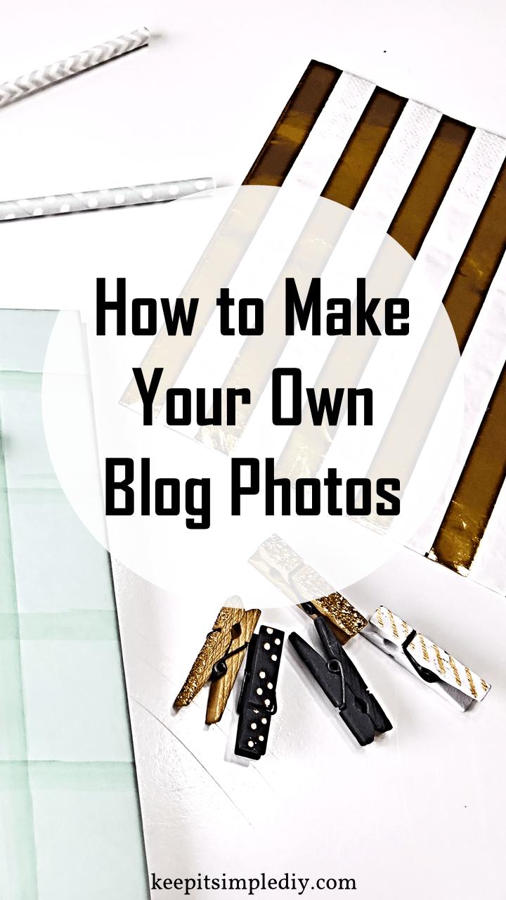 Make Blog Photos