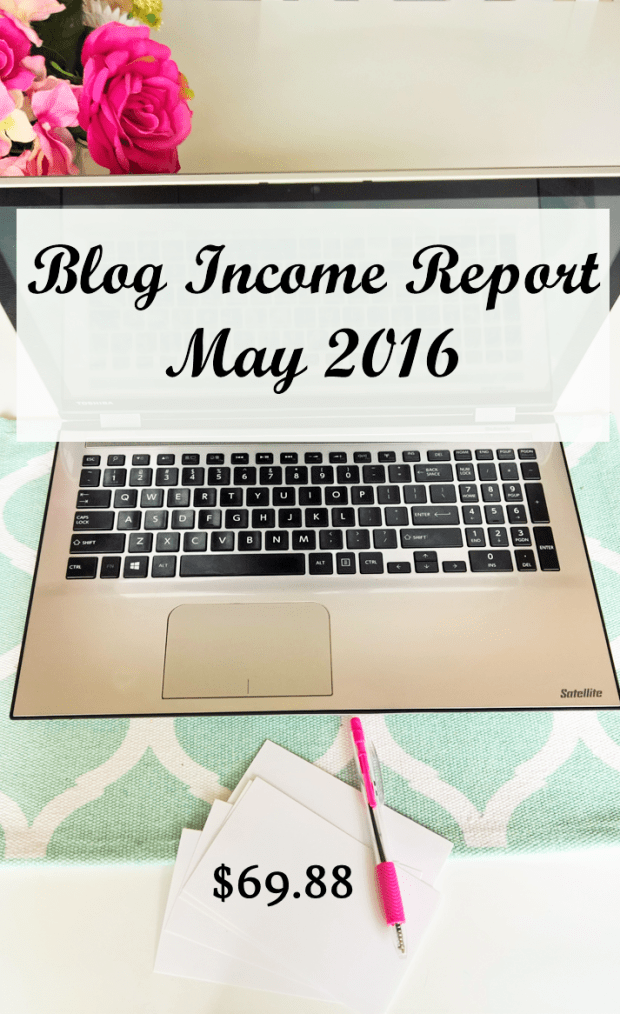 May 2016 Blog Income Report