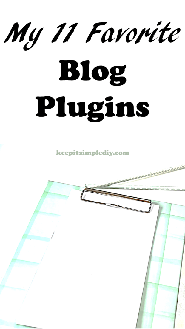 My 11 Favorite Blog Plugins