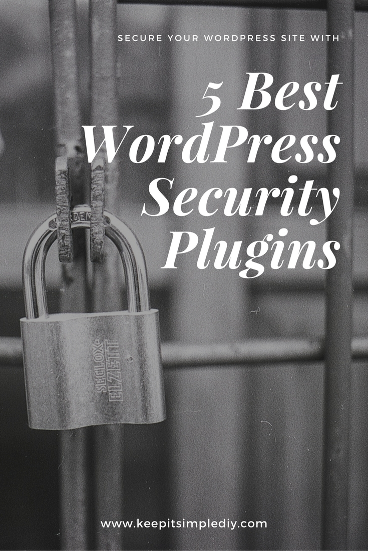 best wordpress security plugin - keepitsimplediy