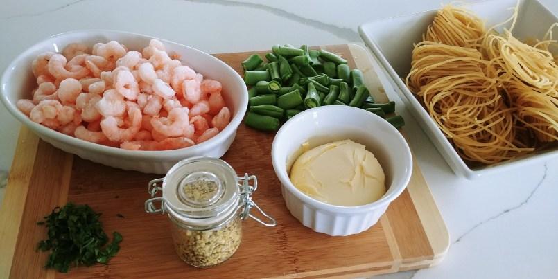 Lemon Shrimp Ingredients