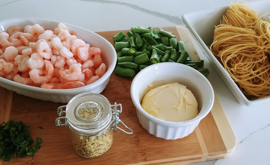 Lemon Shrimp Ingredients